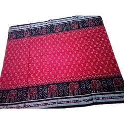 Bandhani Casual Wear Handloom Saree, With Blouse, 5.5 m (separate blouse piece)