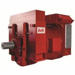 Single Phase Diesel Avk Used Alternator