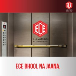 ECE Lift Biometric Card Access Control System