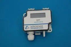 Aerosense Differential Pressure Transmitter Range 100 - 0 - 100 Pac