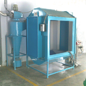 Aluminium Powder Coating Booth, Automation Grade: Automatic