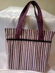 Cotton Shoulder Bag Handmade Handbags For Casual Wear