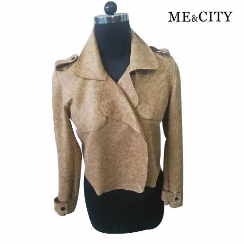 5ffb1df86d3e7 Brown M-Xxl Ladies Designer Winter Jacket