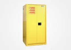 Yellow Usha Flammable Storage Cabinet