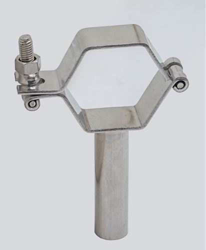 Ss Sanitary Pipe Holder Clamp In Various Type At Rs 220 Piece
