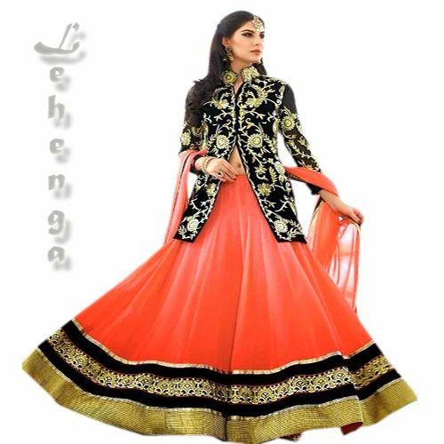 888c592ffc Party Wear Kundan Work Girlish Lehenga, Rs 5995 /piece, Ishika ...