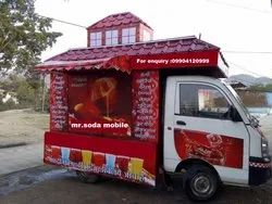 Multi Flavor Mobile Soda Vending Machine