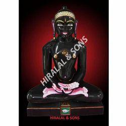 Bhagwan Black Marble Statue