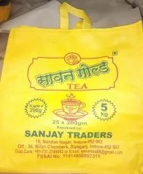 Multicolor Packaging Bags Non Woven tea carrying bag, Capacity: 7Kg