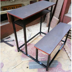 Two Seater School Bench
