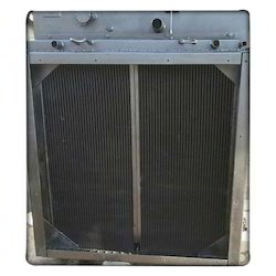 Maharashtra Radiators Aluminium Crane Oil Cooler, Automobile Plant, Water Cooled
