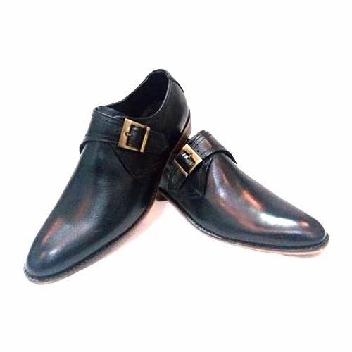 mens black monk strap shoes