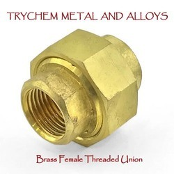Brass Female Threaded Union