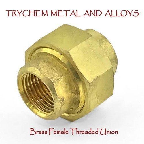 Brass Threaded Pipe Fittings Brass Female Threaded Union
