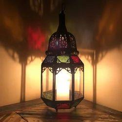 Aya Coloured Medium Lamp