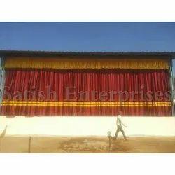 Satin Motorized School Curtains