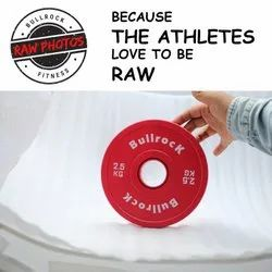 Bullrock Round Fractional Plates 15 Kg Set, For Olympic Weightlifting