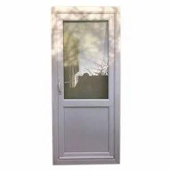 White UPVC Glass Door