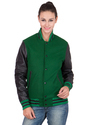 Green Black Varsity Jacket