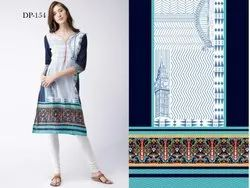 Best Ladies Stylist Crepe Kurti