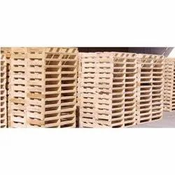 Technotherm Used Wooden Pallet, For Warehouse,Factory etc, Capacity: 300-400 Kg