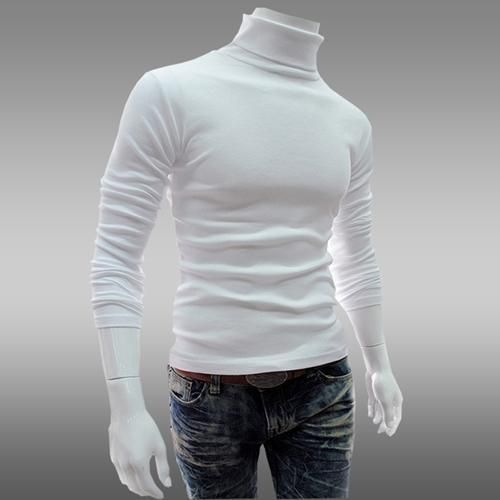 7a7ba091c5630f White Cotton Mens High Neck T-Shirt, Rs 150 /piece, Vee Bee ...