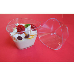 Triangle Dessert Cup