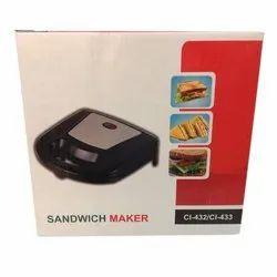 Utility CI-432/433 Sandwich Maker, Voltage: 220 V