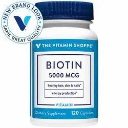 Vitamin Shoppe Biotin 5Mg