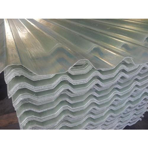 Plain Frp Translucent Roofing Sheets Fiber Reinforced