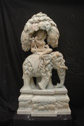Krishna On Khandhar God Statue