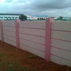 Concrete Boundary Wall Compound