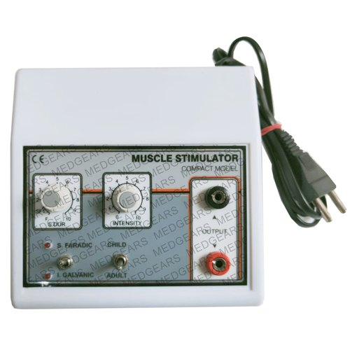 Mini Muscle Stimulator Machine Electrical Muscle Stimulator Two Channel EMS Stimulator