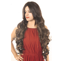 Adjustable Full Head Natural Type Curly Hair Wig
