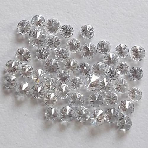 Round Cut Synthetic Loose Diamond Chemical Vapour