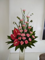 Office Flower Decoration
