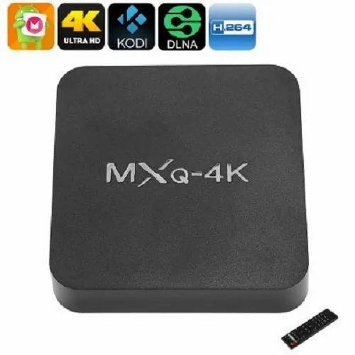 Tech Gear Mxq - 4k Ultra Hd Smart Tv Box Video Player