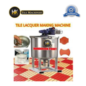 Tile lacquer making machine