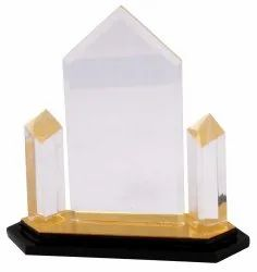 Acrylic Double Star Trophy