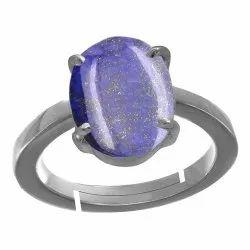 Lapis Lazuli Ring Silver Gemstone