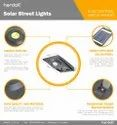 Solar Powered Light with LED 10 W