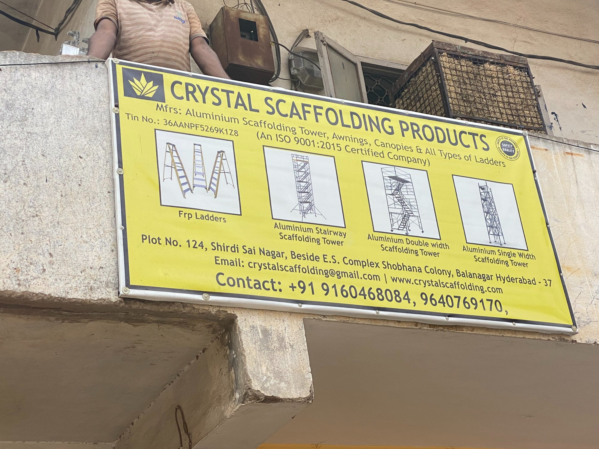 CRYSTAL SCAFFOLDING PRODUCTS
