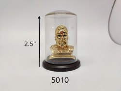 Gold Plated Chhatrapati Shivaji Maharaj Idol