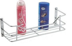 Stainless Steel 12x4 Inch SS Bathroom Wall Rack