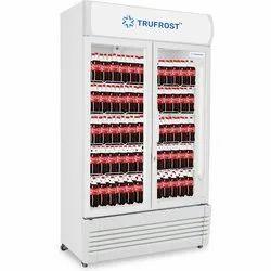 Celfrost Stainless Steel Double Door Visi Cooler, Capacity: 1000 L, 0-10 Degreec