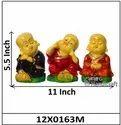 Monk Buddha Set