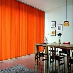 Orange PVC Interior Vertical Blinds, For Office