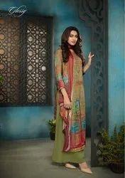 Glossy Grace Of Tradition Pure Modal Satin Digital Print Salwar Kameez Catalog