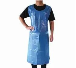 PE Plain MD SAFETY Disposable Plastic Apron, Size: 32 INCH * 51 INCH