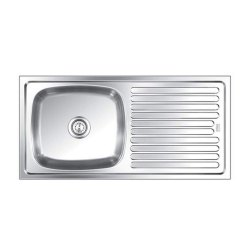 Nirali Kitchen Sinks Elegance Satin Sink Small